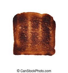 Verbrannter Toast.