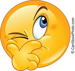 Verdacht auf Emoticon