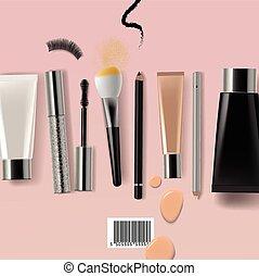 verfassung bürste, kosmetikartikel