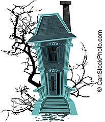 Verfluchtes Halloween-Hexenhaus