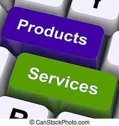 verkauf, weisen, schlüssel, produkte, online, dienstleistungen, kaufen
