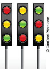 Verkehrssignal-Ikonen