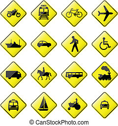 Verkehrsstraßenzeichen