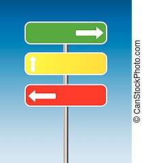 Verkehrszeichen.