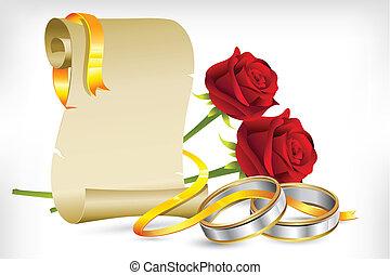 Verlobungs-Einladung