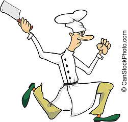 Verrückter Koch