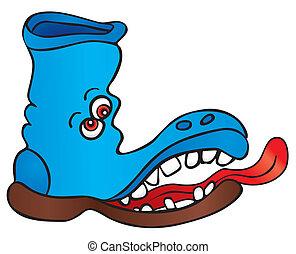 Verrückter Schuh