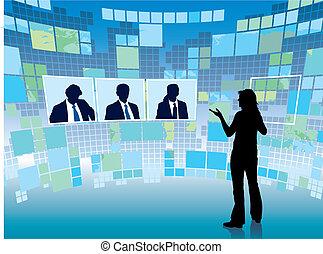 versammlung, virtuell