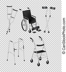 Verschiedene Handicaps.