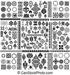 Verschiedene Muster