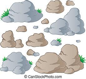 Verschiedene Steine sammeln 1