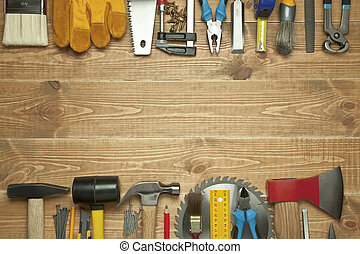 Verschiedene Werkzeuge