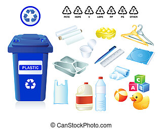 verschwendung, muell, plastik