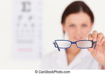 Verschwommene Brille