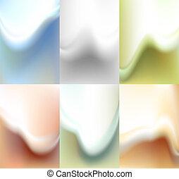 Verschwommene Kulisse, Wasserfarben