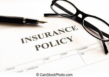 Versicherungspolice