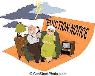 Verurteilte Senioren.