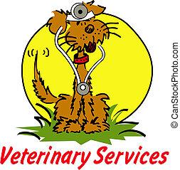 veterinär, tierärztliche , hund, clipart