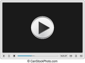 Video-Player-Vorlage.