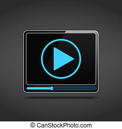 Videoplayer Icon.