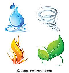 Vier Elemente der Erde