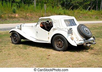 Vintage British machte Sportwagen