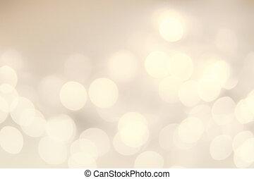 Vintage Christmas Hintergrund mit Seelicht. Defocused bokeh