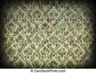 Vintage damask Tapete