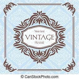 Vintage-Foralrahmen