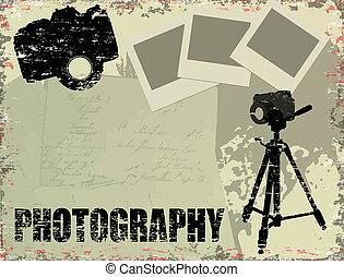 Vintage-Fotografie-Poster.
