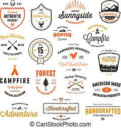 Vintage Marken & Labels.