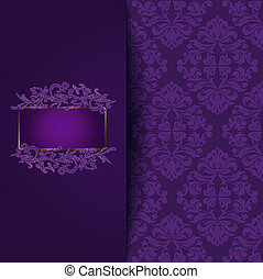 Vintage Purple Hintergrund