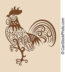 Vintage-Rooster-Ornament