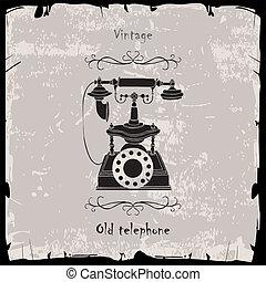 Vintage-Telefon.