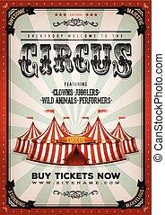 Vintage Zirkus Hintergrund.