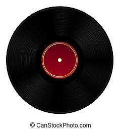 Vinyl Disk.