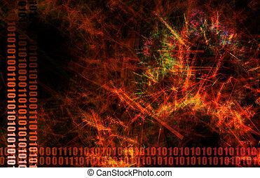 Virus-Netzwerk