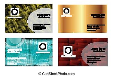 Visitenkarten.