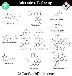 Vitamine der b Gruppe.