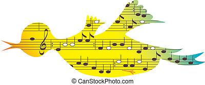 Vogel, Musiksymbol