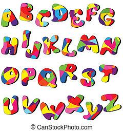 Volles Alphabet