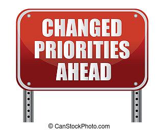 Vor uns liegen veränderte Prioritäten