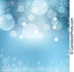 vorabend, abstrakt, blauer hintergrund, weihnachten, neujahrs