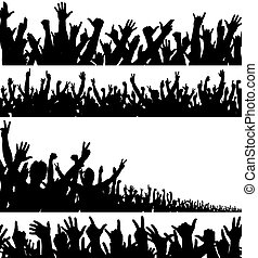 vordergründe, crowd