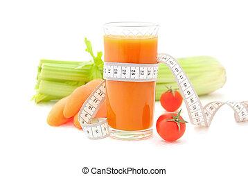Vorstellung von gesunder Lebensweise und Ernährung