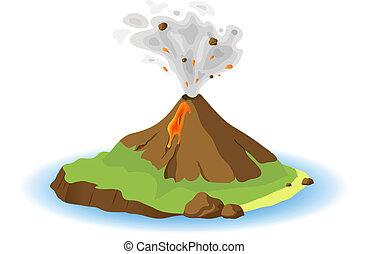vulkan, ausbrechen