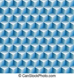 Würfel rudern optische Illusionen abstrakt