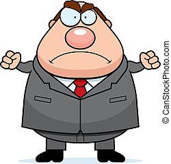 Wütender Boss