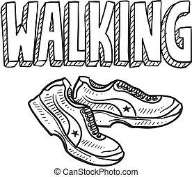 Walking Sketch