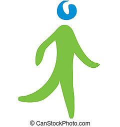 Walking-Symbol